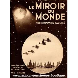 LE MIROIR DU MONDE N°21 - 26.07.1930