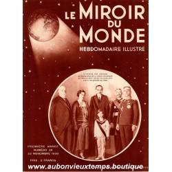 LE MIROIR DU MONDE N°38 - 22.11.1930