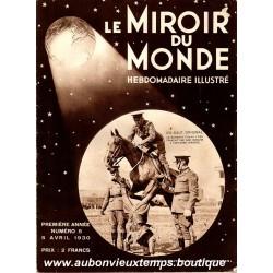 LE MIROIR DU MONDE N°5 - 5.04.1930