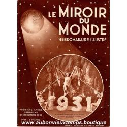 LE MIROIR DU MONDE N°43 - 27.12.1930