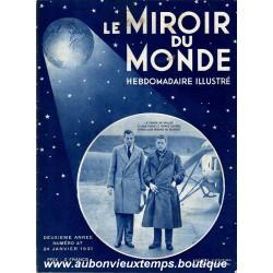 LE MIROIR DU MONDE N°47 - 24.01.1931