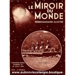 LE MIROIR DU MONDE N°26 - 30.08.1930