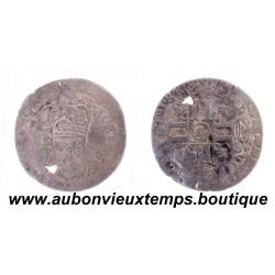SOL de 15 DENIERS ARGENT LOUIS XIV 1693 D