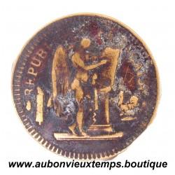 JETON de MAISON CLOSE 1893 CARTAUX
