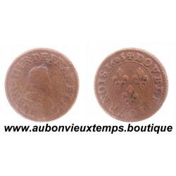 DOUBLE TOURNOIS HENRI IV 1605 A
