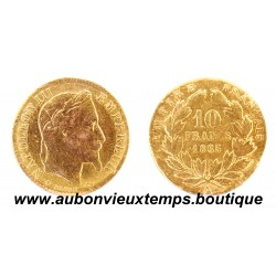 10 FRANCS OR NAPOLEON III 1865 A