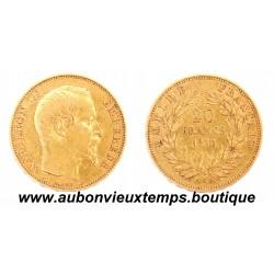 20 FRANCS OR NAPOLEON III 1853 A