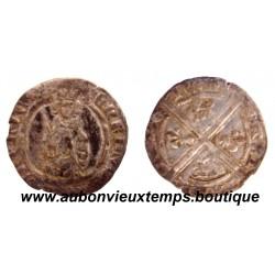 HARDI HENRI IV ND ( 1400-1420 ), BORDEAUX – DUCHE d'AQUITAINE
