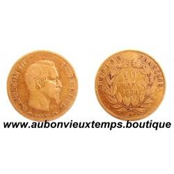 10 FRANCS OR NAPOLEON III 1856 A