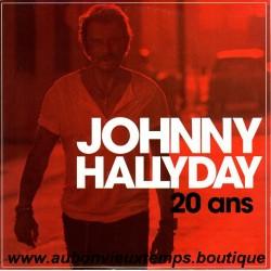 33T JOHNNY HALLYDAY - 20 ANS - 2 TITRES