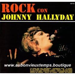 33T JOHNNY HALLYDAY - ROCK CON - 12 TITRES