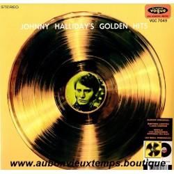 33T JOHNNY HALLYDAY - GOLDEN HITS - 11 TITRES
