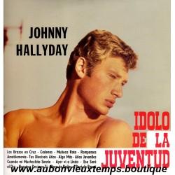 33T JOHNNY HALLYDAY - EL IDOLO DE LA JUVENTUD - 12 TITRES