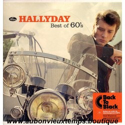 33T JOHNNY HALLYDAY - BEST OF 60'S - 12 TITRES