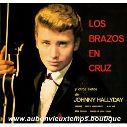33T JOHNNY HALLYDAY - LOS BRAZOS EN CRUZ - 12 TITRES
