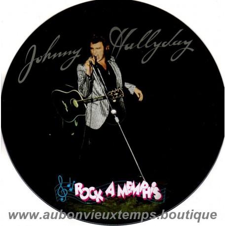 33T JOHNNY HALLYDAY - ROCK A MEMPHIS - 13 TITRES