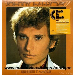 2 x 33T JOHNNY HALLYDAY - DERRIERE L'AMOUR - 13 TITRES
