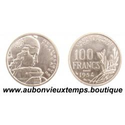 100 FRANCS ESSAI 1954 COCHET