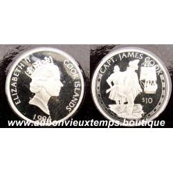 10 DOLLARS 1994 CAPT. JAMES COOK - COOK ISLANDS