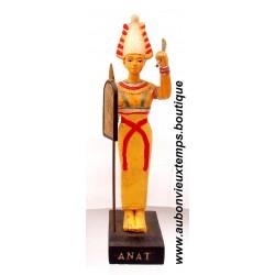 STATUETTE DIEU EGYPTIEN ANAT PLASTOY