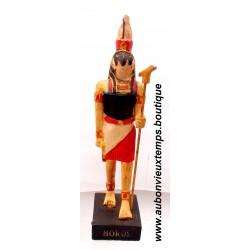 STATUETTE DIEU EGYPTIEN HORUS PLASTOY