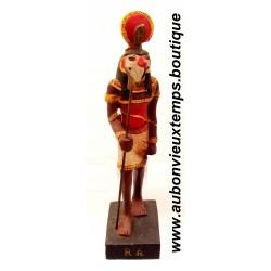 STATUETTE DIEU EGYPTIEN RA PLASTOY