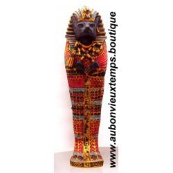 STATUETTE SARCOPHAGE EGYPTIEN BASTET