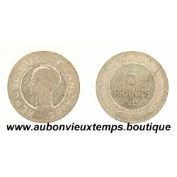 5 FRANCS ESSAI 1933 CONCOURS de COCHET
