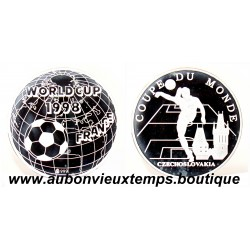 MEDAILLE ARGENT WORLD CUP 1998 - TCHECOSLOVAQUIE