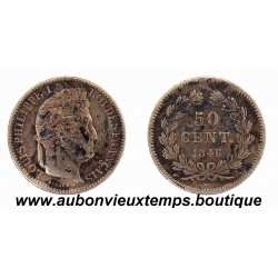 50 CENTIMES 1846 A LOUIS PHILIPPE 1er