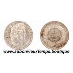 25 CENTIMES 1846 A LOUIS PHILIPPE 1er