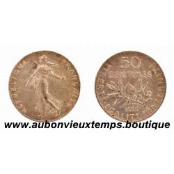 50 CENTIMES ARGENT 1898 SEMEUSE