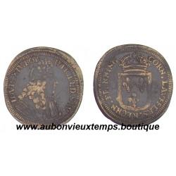 JETON  LAITON LOUIS XIV  de NUREMBERG