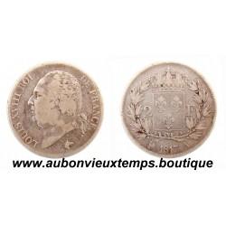 2 FRANCS ARGENT 1817 A LOUIS XVIII
