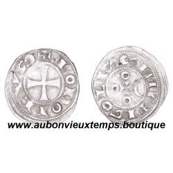DENIER ARGENT IMMOBILITE DE LOUIS IV D'OUTREMER ( 936-954 ) - COMTE D'ANGOULEME