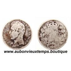 2 FRANCS ARGENT 1827 W CHARLES X