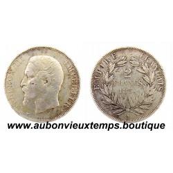 2 FRANCS ARGENT 1854 A NAPOLEON III