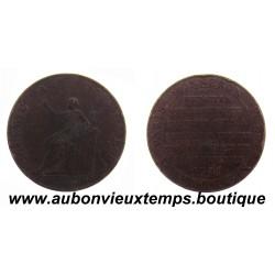 2 SOLS 1791 BRONZE - MONNERON à la LIBERTE