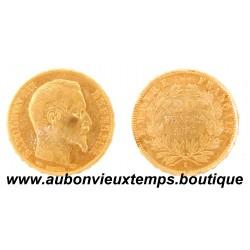 20 FRANCS OR 1856 A NAPOLEON III
