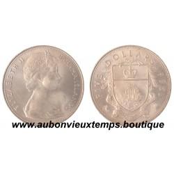 5 DOLLARS ARGENT 1966 BAHAMAS