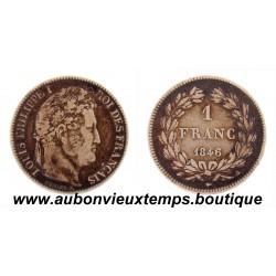 FRANC ARGENT 1846 A LOUIS PHILIPPE 1er