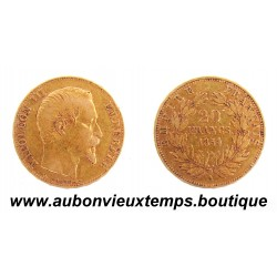 20 FRANCS OR 1854 A NAPOLEON III