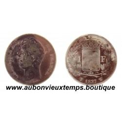 FRANC ARGENT 1827 W CHARLES X