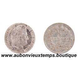 1/4 FRANC ARGENT 1836 A LOUIS PHILIPPE 1er
