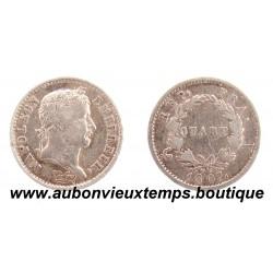 QUART FRANC ARGENT 1807 A NAPOLEON 1er