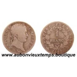 FRANC ARGENT 1812 B NAPOLEON 1er