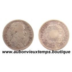 DEMI FRANC ARGENT 1808 D NAPOLEON 1er