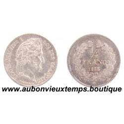 1/4 FRANC ARGENT 1835 A LOUIS PHILIPPE 1er