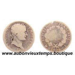 FRANC ARGENT 1808 A NAPOLEON 1er