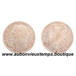 FRANC ARGENT 1867 A NAPOLEON III